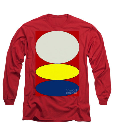 Floating Circles - Long Sleeve T-Shirt