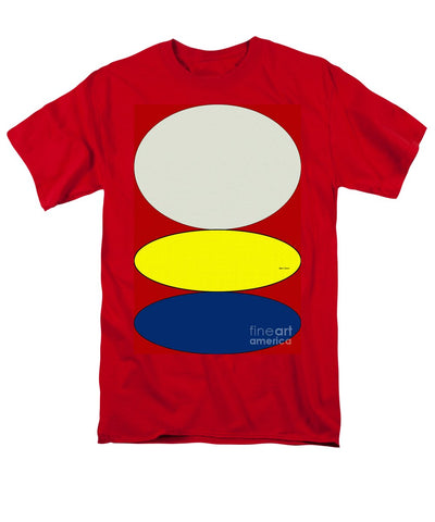 Floating Circles - Men's T-Shirt  (Regular Fit)