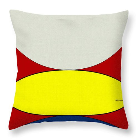 Floating Circles - Throw Pillow