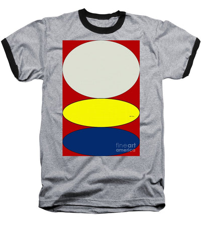 Floating Circles - Baseball T-Shirt