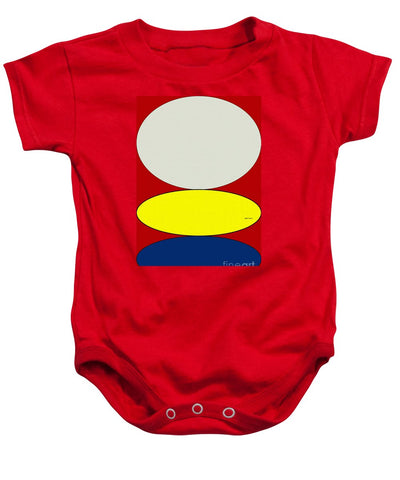 Floating Circles - Baby Onesie