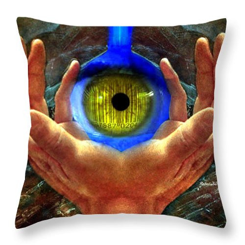 Throw Pillow - Fortune Teller