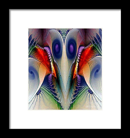 Framed Print - Fractal Mask