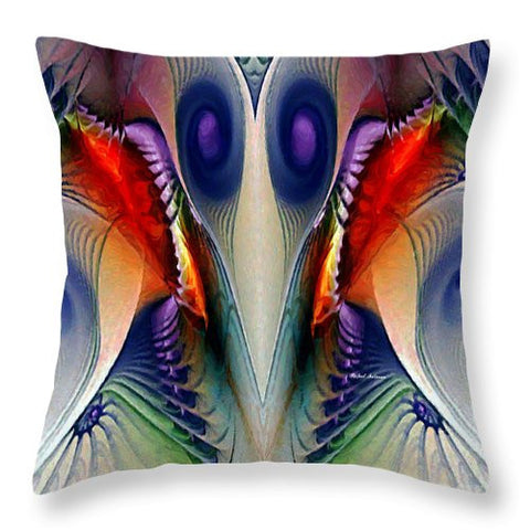 Throw Pillow - Fractal Mask