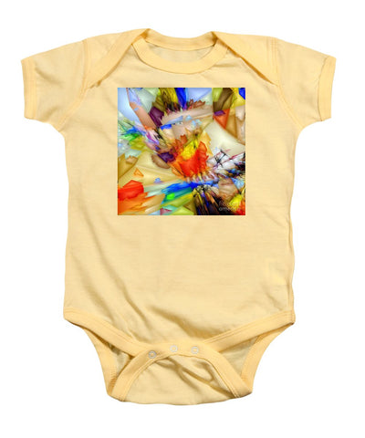 Fragment Of Crying Abstraction - Baby Onesie
