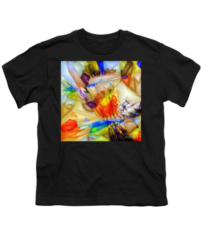 Fragment Of Crying Abstraction - Youth T-Shirt