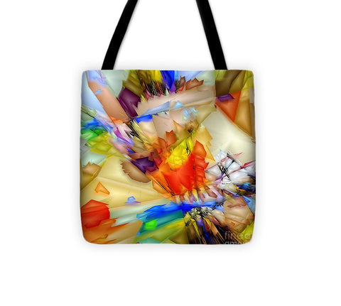Fragment Of Crying Abstraction - Tote Bag