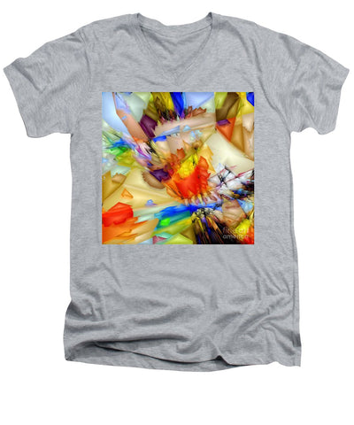 Fragment Of Crying Abstraction - Men's V-Neck T-Shirt