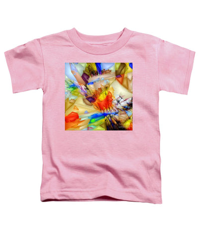 Fragment Of Crying Abstraction - Toddler T-Shirt