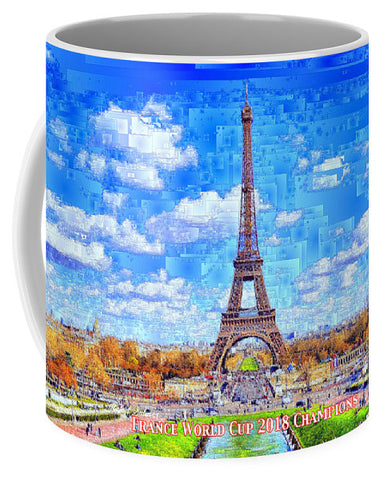 France - Russia World Cup Champions 2018 - Mug