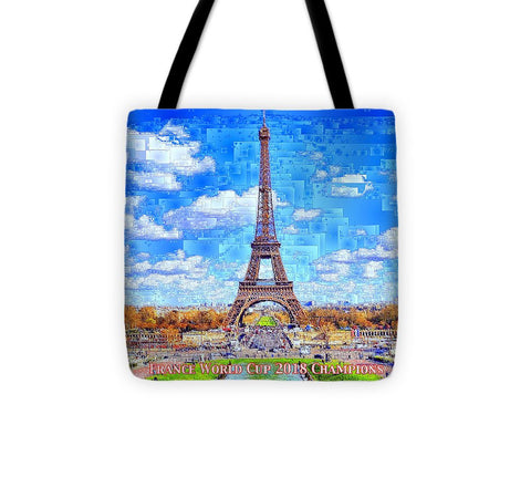 France - Russia World Cup Champions 2018 - Tote Bag