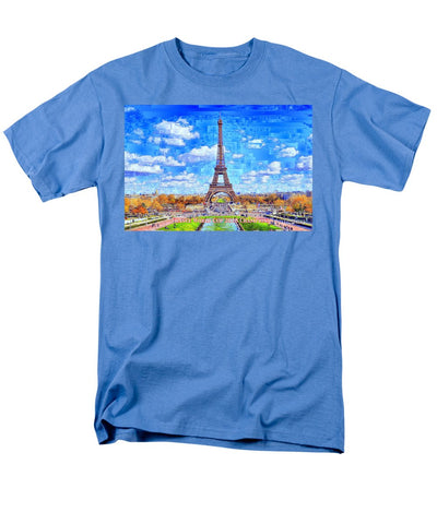 France - Russia World Cup Champions 2018 - Men's T-Shirt  (Regular Fit)