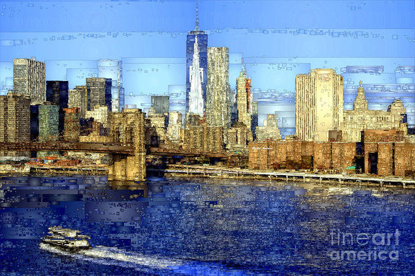 Art Print - Freedom Tower In New York City
