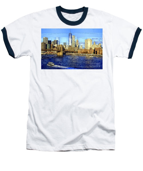 Baseball T-Shirt - Freedom Tower In New York City