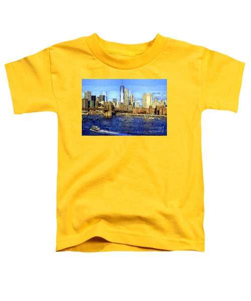 Toddler T-Shirt - Freedom Tower In New York City