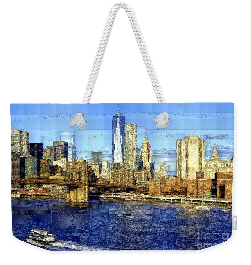 Weekender Tote Bag - Freedom Tower In New York City