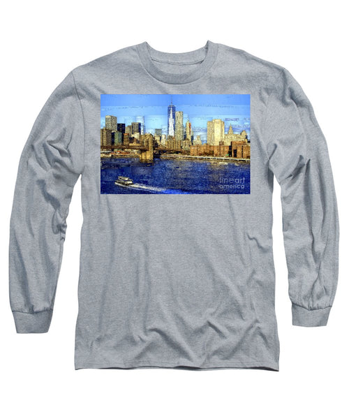 Long Sleeve T-Shirt - Freedom Tower In New York City