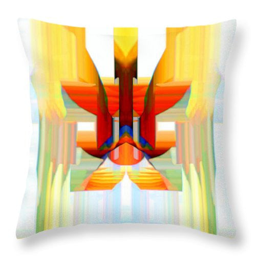 Throw Pillow - Gates Of