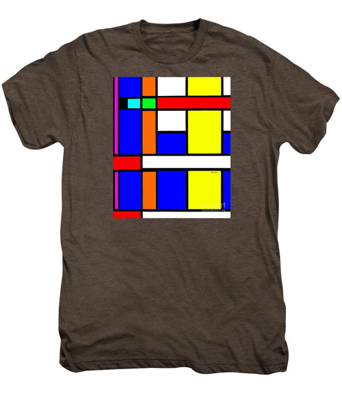 Men's Premium T-Shirt - Geometric 9706