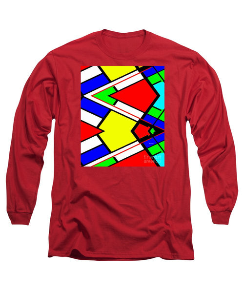 Long Sleeve T-Shirt - Geometric 9710