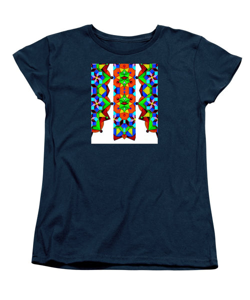 Women's T-Shirt (Standard Cut) - Geometric 9741a