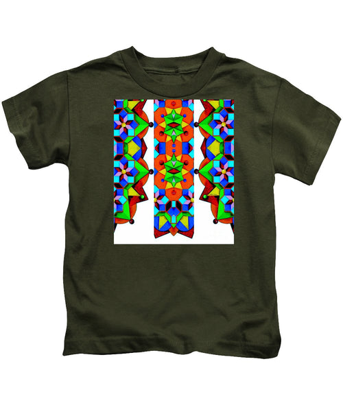Kids T-Shirt - Geometric 9741a