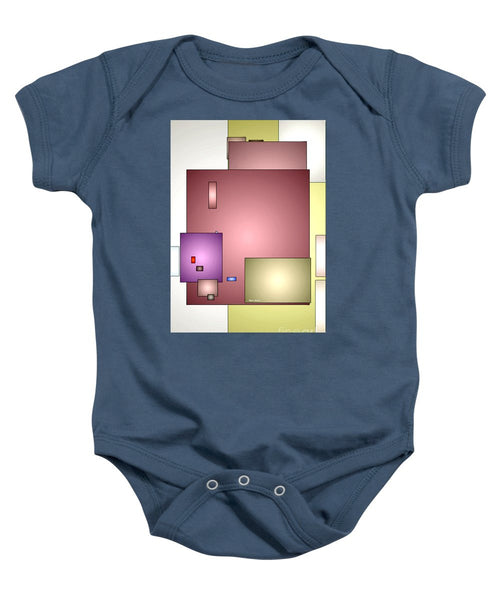 Baby Onesie - Geometric Abstract 0790_54