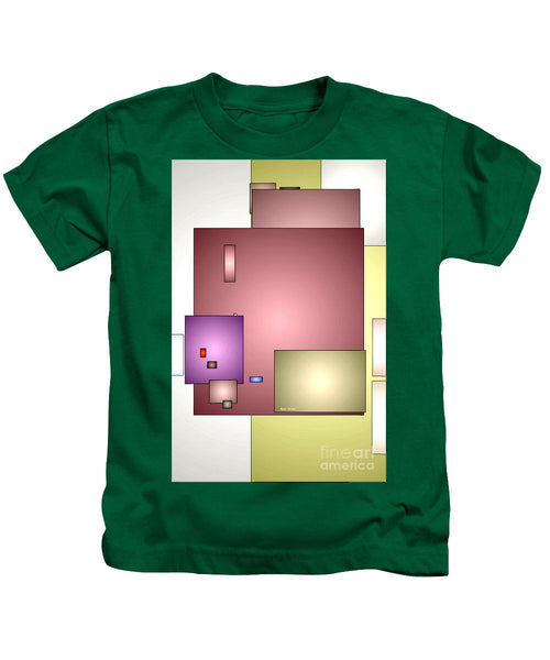 Kids T-Shirt - Geometric Abstract 0790_54