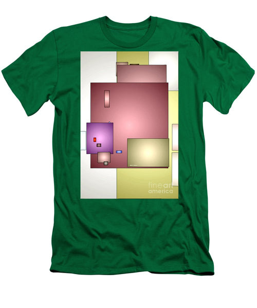 Men's T-Shirt (Slim Fit) - Geometric Abstract 0790_54
