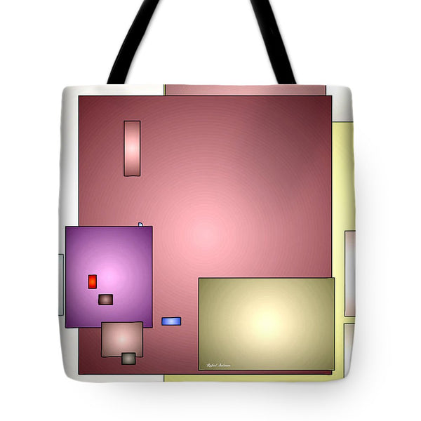Tote Bag - Geometric Abstract 0790_54