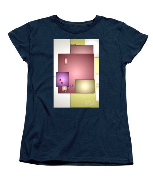 Women's T-Shirt (Standard Cut) - Geometric Abstract 0790_54