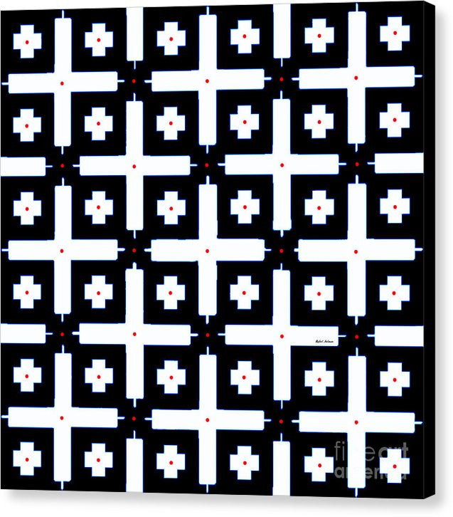 Canvas Print - Geometric In Black And White