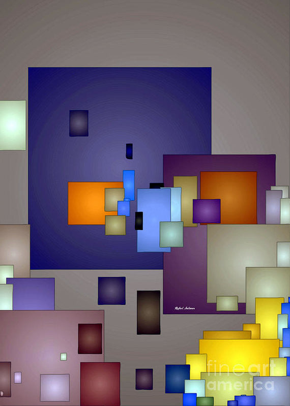 Art Print - Geometric Nightlife