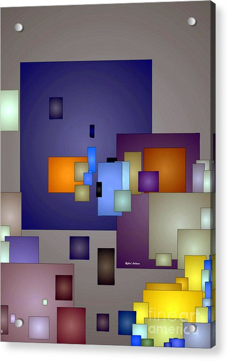 Acrylic Print - Geometric Nightlife