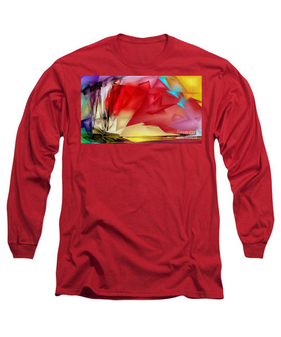 Geometric Rainbow - Long Sleeve T-Shirt