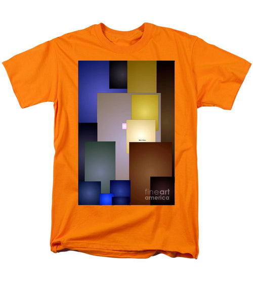 Men's T-Shirt  (Regular Fit) - Geometric Squares