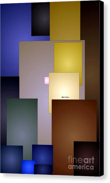 Canvas Print - Geometric Squares