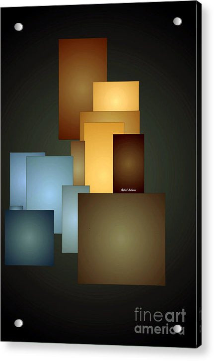 Acrylic Print - Geometric Windows