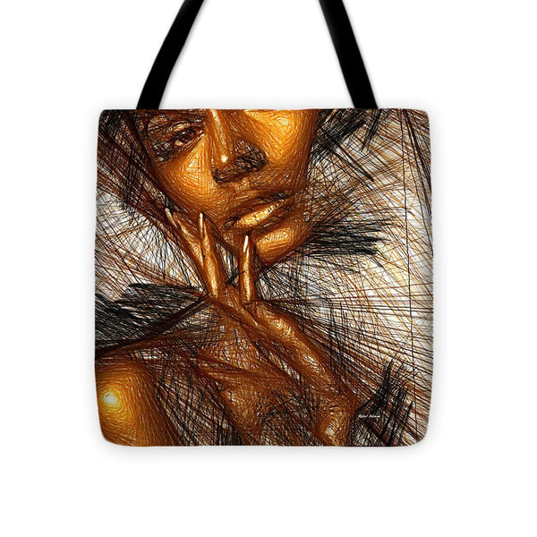 Tote Bag - Gold Fingers