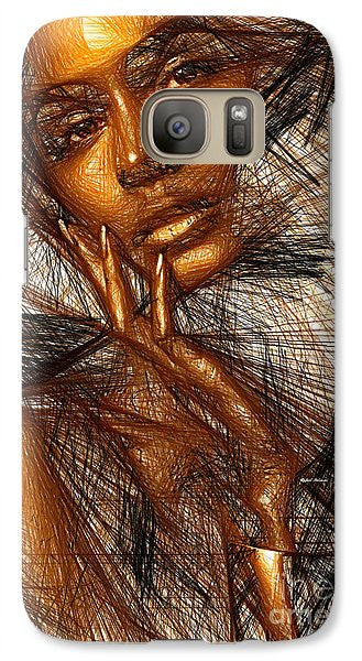 Phone Case - Gold Fingers