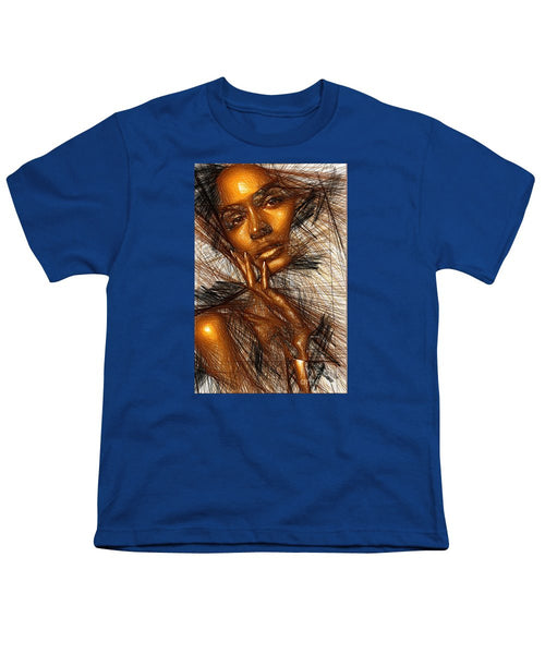 Youth T-Shirt - Gold Fingers