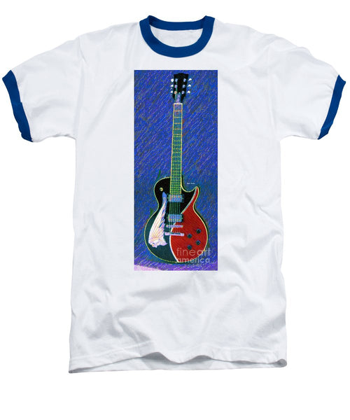 Baseball T-Shirt - Guitar 0817