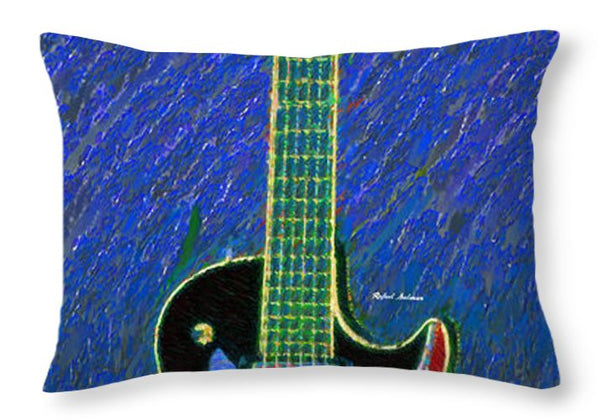 Throw Pillow - Guitar 0817