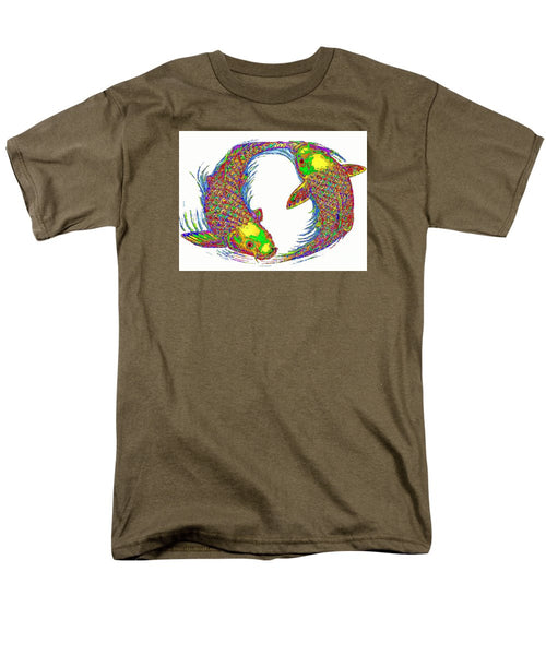 Men's T-Shirt  (Regular Fit) - Happy Home. Pet Series