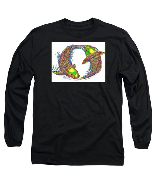 Long Sleeve T-Shirt - Happy Home. Pet Series