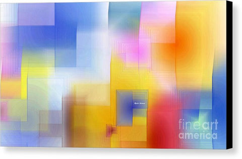 Canvas Print - Happy Pattern