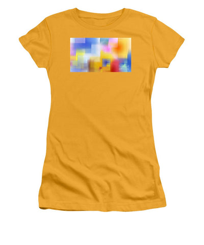 Women's T-Shirt (Junior Cut) - Happy Pattern