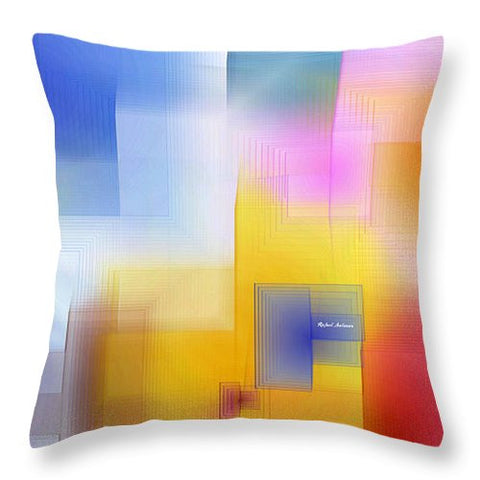 Throw Pillow - Happy Pattern