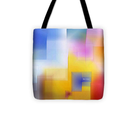 Tote Bag - Happy Pattern