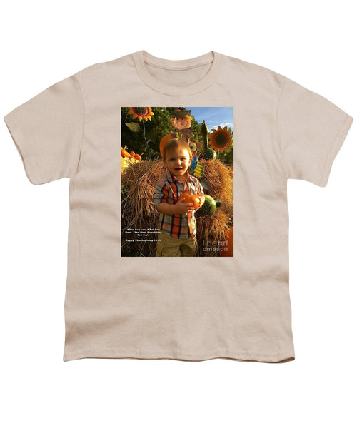 Youth T-Shirt - Happy Thanksgiving To All